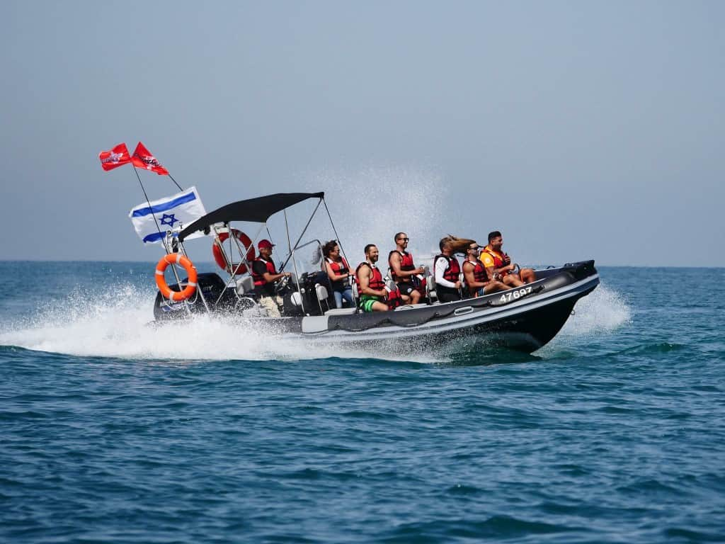 Tornado & Comando Boat Trips in the Herzliya marina