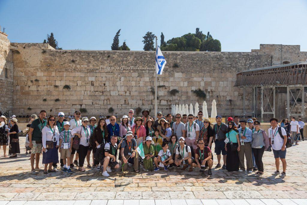WSB Western Wall by Eshet incentive Israel