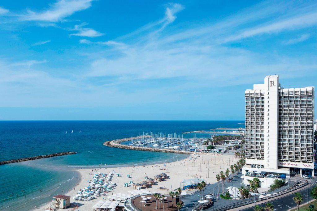 tel aviv beach day fun event